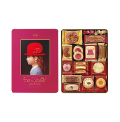 AKAIBOHSHI Pink Box Assorted Cookies 352g
