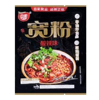 BAIJIA Broad Vermicelli Hot & Sour Flavor 105g