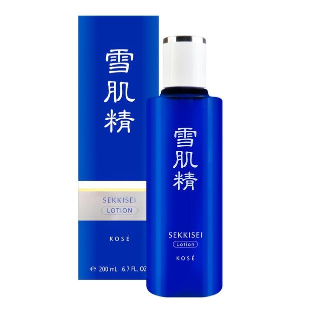 商品详情 - 日本KOSE高丝 雪肌精 化妆水 200ml  范冰冰推荐 - image  0