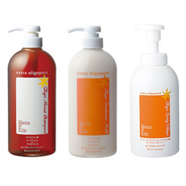 Product Detail - MAMA&KIDS(mamakids) (suit for pregnant or lactating women) hair shampoo 720ml+hair conditioner 720ml+body wash 680ml - image 0
