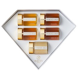 【日本直邮】HACCI花绮 钻石蜂蜜礼盒 5瓶装 95g x 5