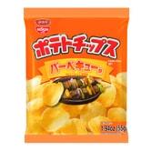 日本NISSIN日清 湖池屋 香脆薯片 烧烤味 55g