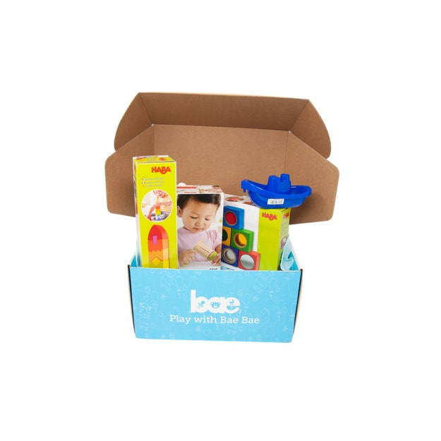Product Detail - US Bae Bae Box 17 months baby toy box 4 pieces - image 0