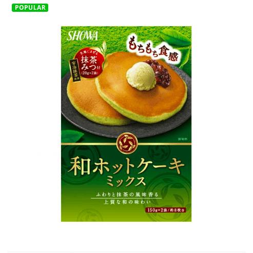 Yamibuy.com:Customer reviews:SHOWA Matcha Pancake Mix 340g
