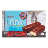 韩国CROWN 巧克力棉花糖棒蛋糕 10枚入 220g