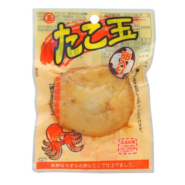 商品详情 - 【日本直邮】DHL直邮3-5天到 日本丸玉水产MARUTAMA 章鱼蛋即食鱼饼海味零食 1个 - image  0