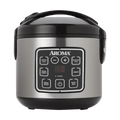AROMA 2-8 Cups (Cooked) Digital Rice Cooker and Food Steamer ARC-914SBD (2 Year Manufacturer Warranty) 8.25x8.5x9inches