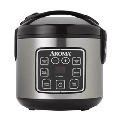 AROMA 8-Cup Digital Rice Cooker and Food Steamer ARC-914SBD  (2 Year Manufacturer Warranty)