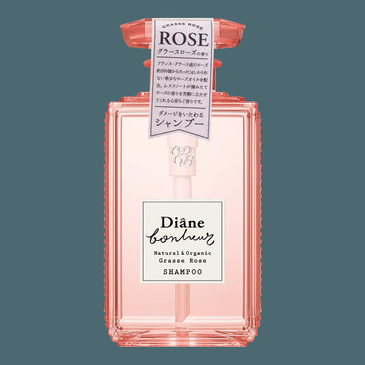 Yamibuy.com:Customer reviews:MOIST DIANE BONHEUR Natural & Organic Shampoo Grasse Rose 500ml