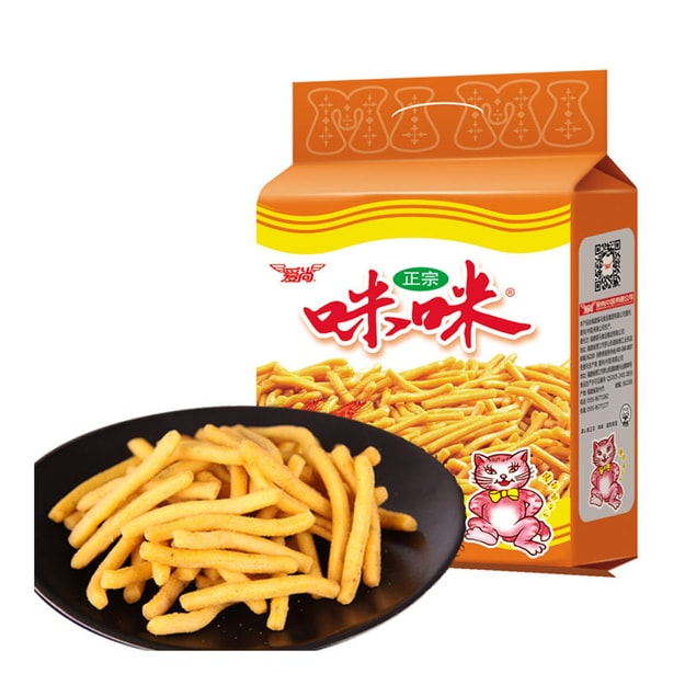 Product Detail - AISHANG Mimi Shrimp Flavored Chips 10 Packs 180g - image 0