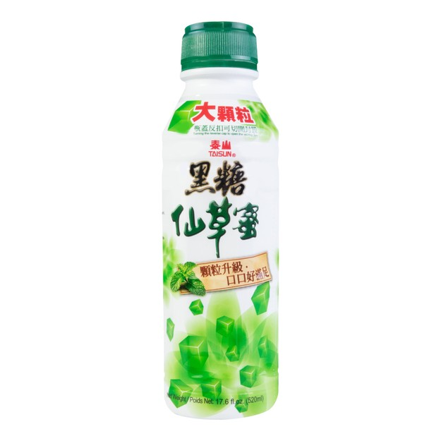 Product Detail - TAISUN Brown Sugar Grass Jelly Drink 520ml - image 0