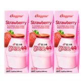 韩国BINGGRAE宾格瑞 草莓牛奶 6盒装 1200ml