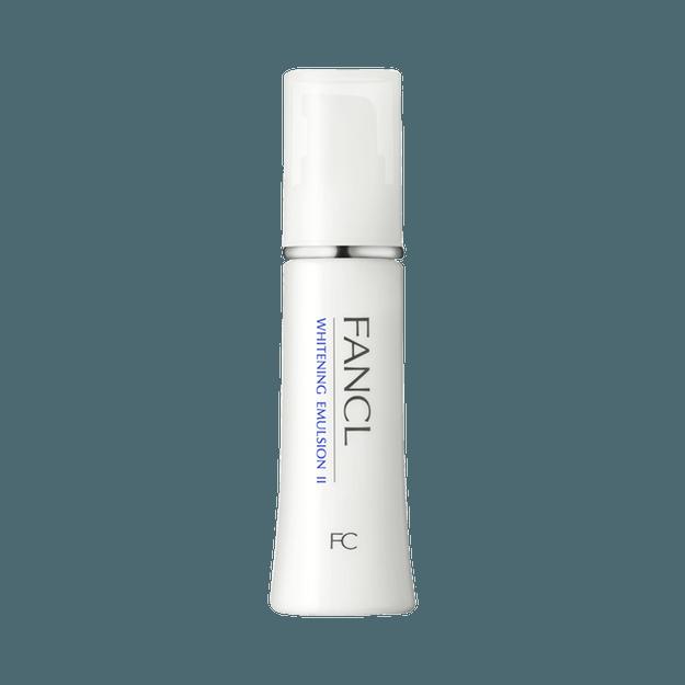 商品详情 - FANCL 芳珂||焕白淡斑保湿基础护理乳液||Ⅱ 滋润型 30ml - image  0