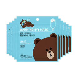 MEDIHEAL X LINE FRIENDS Warming Eye Mask Unscented 10pcs