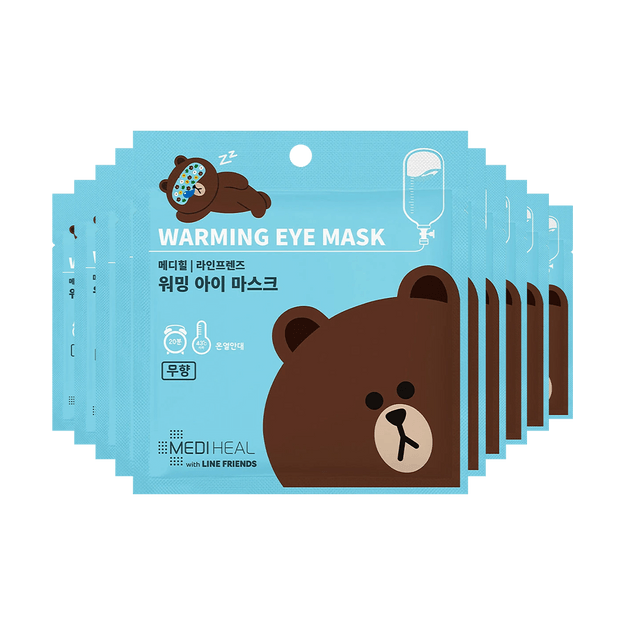 Product Detail - MEDIHEAL X LINE FRIENDS Warming Eye Mask Unscented 10pcs - image 0