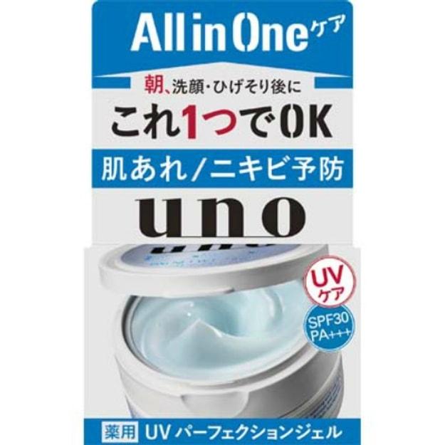 商品详情 - 日本SHISEIDO UNO吾诺 男士五合一防晒面霜 SPF30 PA+++ 90g - image  0