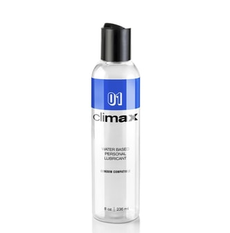 Adult toy TOPCO Climax 1: Condom Compatible Water Based Lubricant 8 fl. oz. (236ml) Bottle
