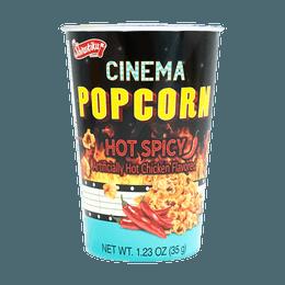 Popcorn Cinema artificially hot chicken flavored 35g