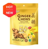 PRINCE OF PEACE Ginger Chews with Lemon 124g