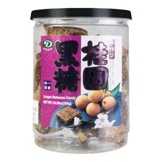 台湾桃园 补血益气桂圆黑糖 300g