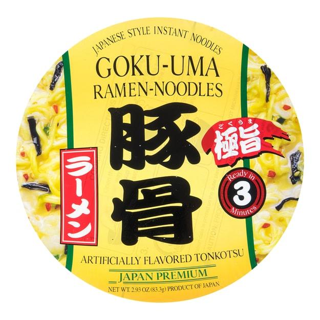 Product Detail - SHIRAKIKU Goku-Uma Ramen Noodle Tonkotsu 83.3g - image 0