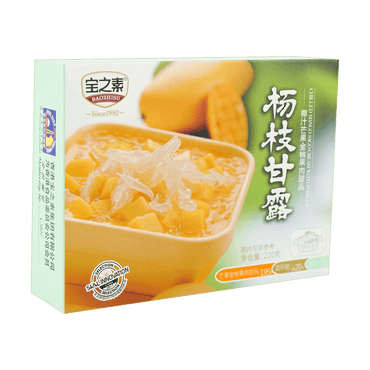 BZS Mango Sago Cream with Pomelo 200g