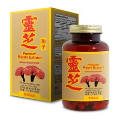 【Clearance】Lucky Mart Premium Reishi Extract 500mg*100Tablets