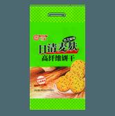 日清NISSIN 麦麸高纤维饼干 12包入 360g