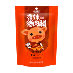 SHUDAOXIANG Spicy dried pork 200g