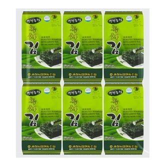 韩国农业协会 绿茶海苔 12包入 48g