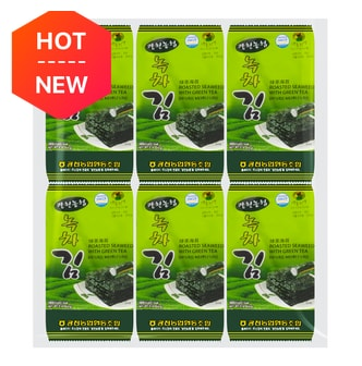 FARM GROUP Roasted Seaweed with Green Tea 12 Bags