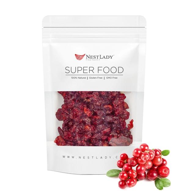 商品详情 - 亚米标题:NESTLADY 美容养颜小零食 加州野生蔓越莓 130g - image  0
