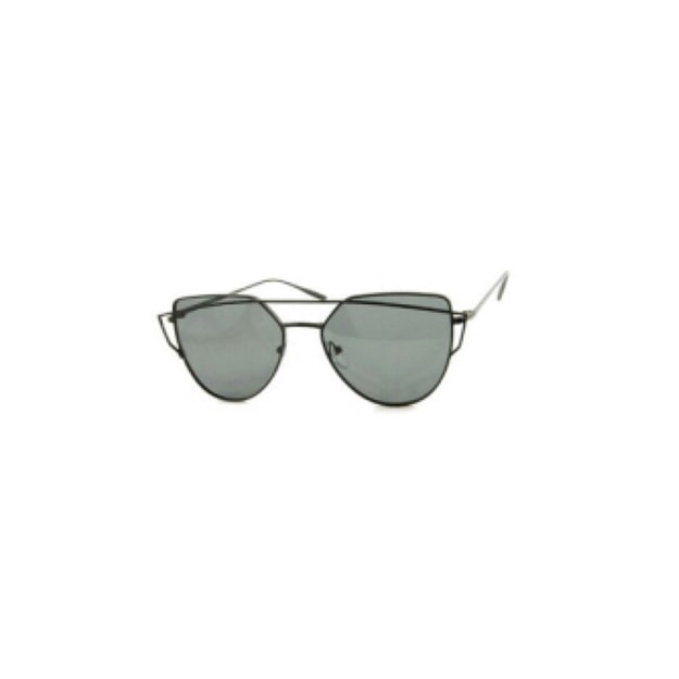 Product Detail - RETRO POP Fashion Sunglasses 6082 Black Frame/Grey Lens - image 0