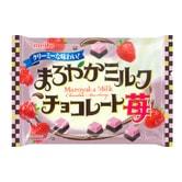 日本MEITO 醇厚牛奶草莓巧克力 150g 季节限定