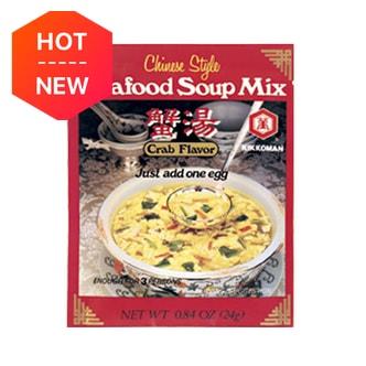 日本KIKKOMAN万字牌 蟹味海鲜汤 24g