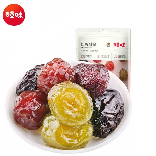 Product Detail - BE&CHEERY Assorted Preserved plum 180g - image 0