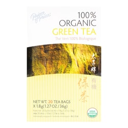 【Clearance】PRINCE OF PEACE Premium Organic Green Tea 20 Bags 36g USDA