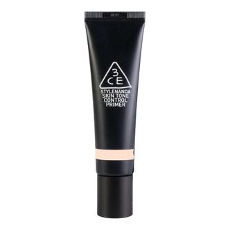 韩国3CE 保湿控油妆前隔离乳 #柔和蜜桃色 30ml