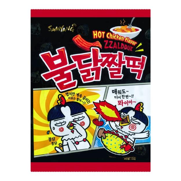 Product Detail - SAMYANG Snack Hot Chicken Flavor 120g - image 0