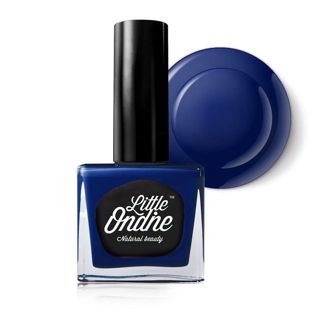 Product Detail - Little Ondine Water-based Peel off Odor Free Quick Dry Non Toxic Nail Polish-Solid Blue 0.36 Fl Oz(L740-Blue Danube) - image 0