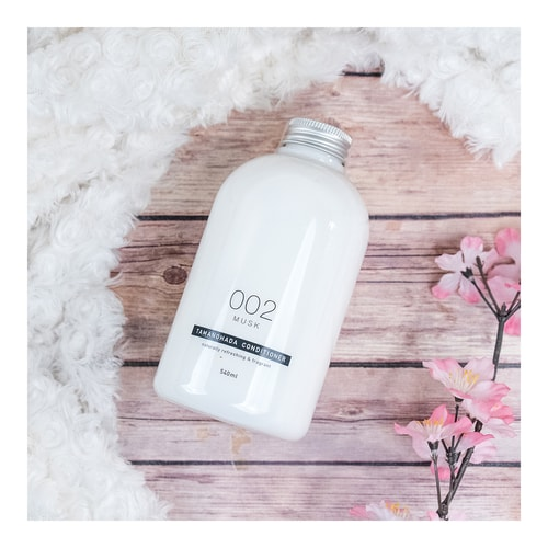 TAMANOHADA Conditioner Naturally Refreshing & Fragrant #002 Musk 540ml