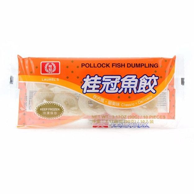 商品详情 - 桂冠 鱼饺 10个/盒 90克 - image  0