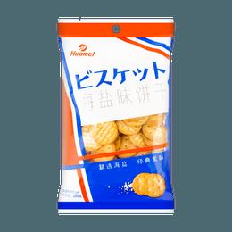 华美 网红小饼干 海盐味 100g