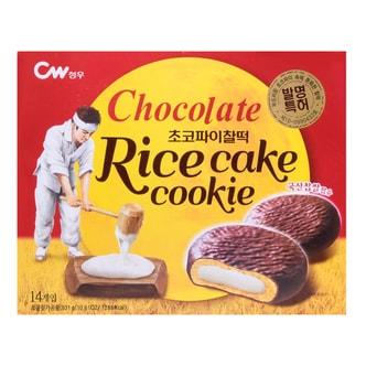 韩国CW 巧克力年糕夹心饼 14枚入 301g
