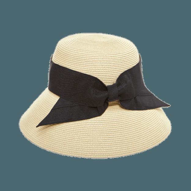 商品详情 - COGIT||PRECIOUS UV 蝴蝶结时尚宽檐防晒帽||适用头围56~58cm - image  0