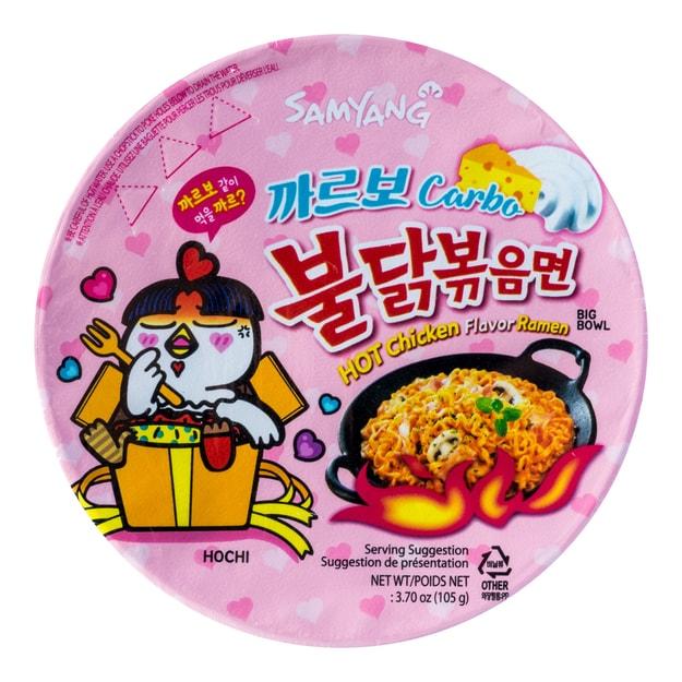Product Detail - Samyang Hot Chicken Ramen Big Bowl Carbo 105g - image 0