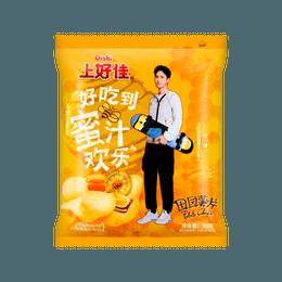上好佳 田园薯片 蜂蜜黄油味 王一博代言  50g