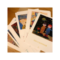 Qwaya 2021 3 in 1 Postcard Calendar A4 210 * 297