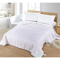 SILK CAMEL Luxury Allergy Free Comforter / Duvet Filling with 100% Natural Silk for Spring  California King Size