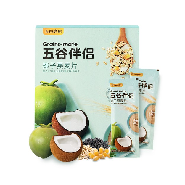 WUGU MOFANG GRAINS-MATE COCONUT OATMEAL 280g